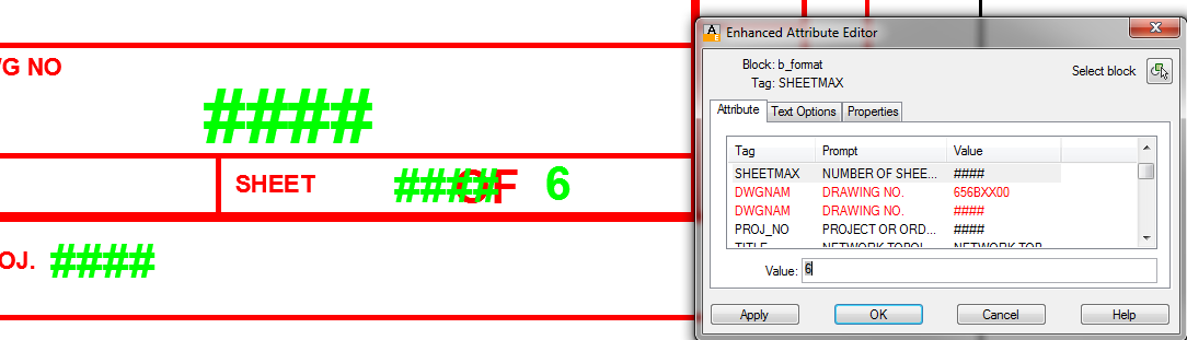 Autocad sheet set not updating