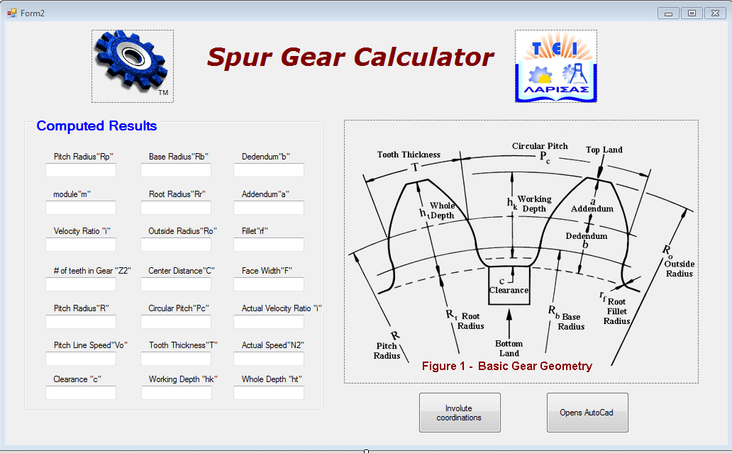 Gear Drawings How to Draw Spur Gears in