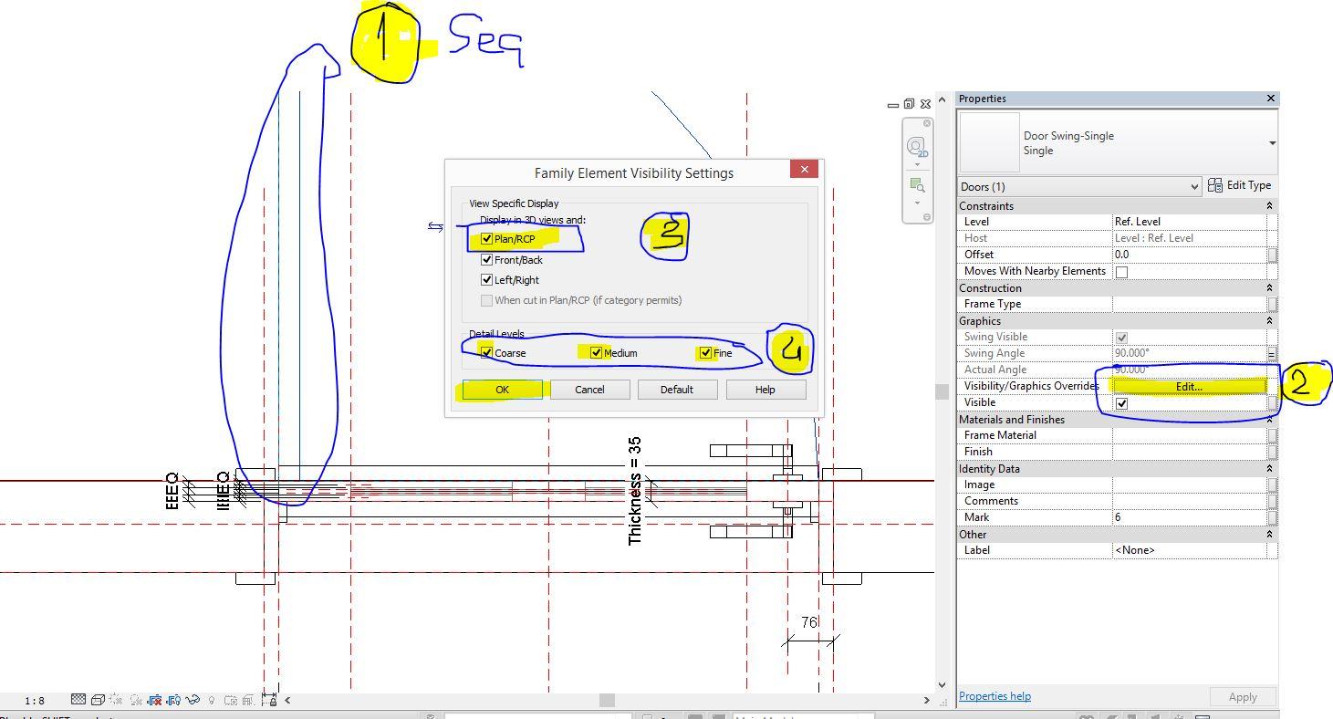 çözüldü Planda Kapılar Yok Oldu Autodesk Community International