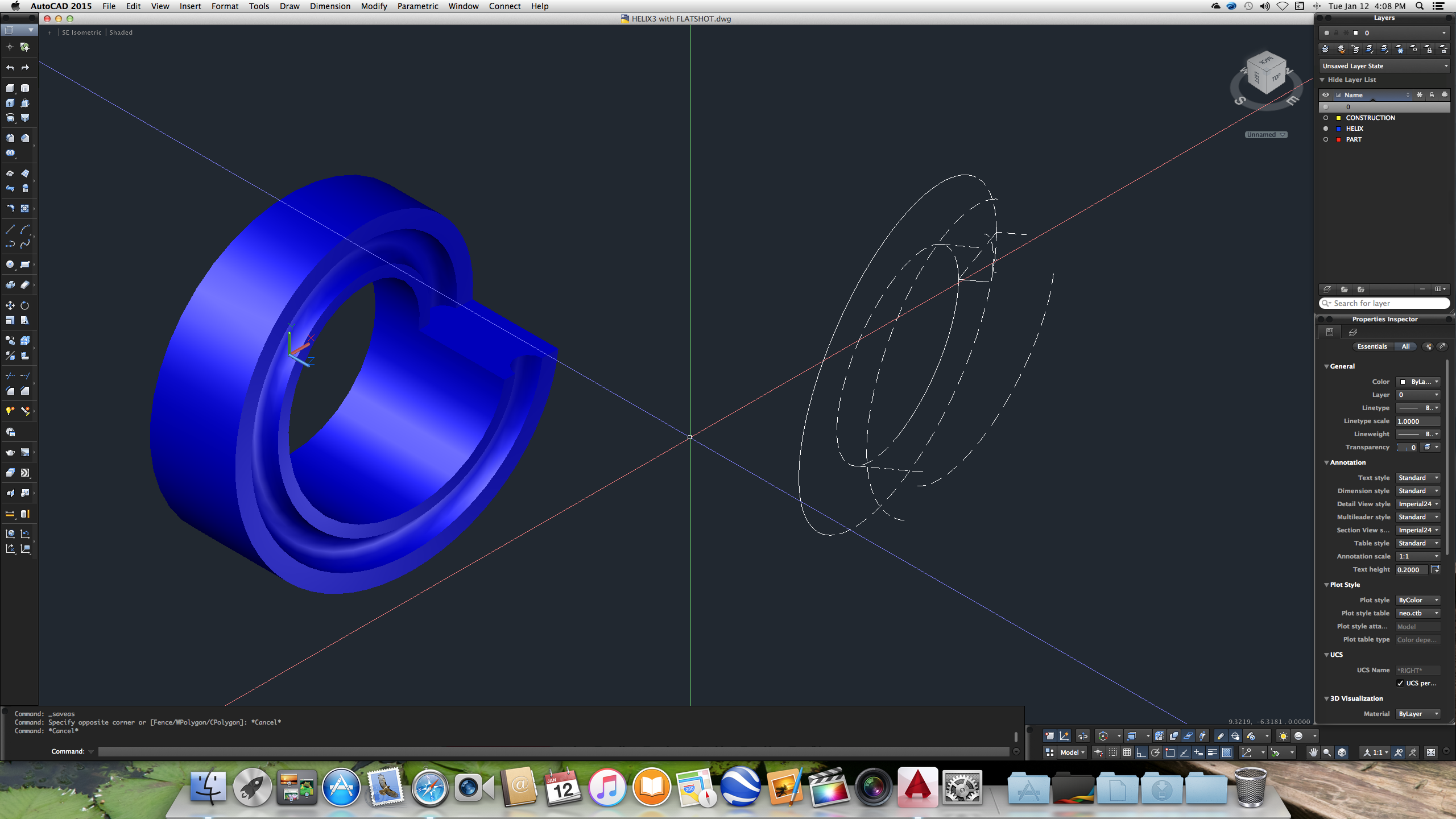autocad 3d convert surface to solid