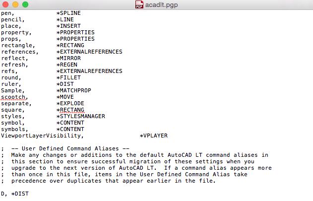 Autocad Lt Mac Command Aliases Autodesk Community Autocad For Mac