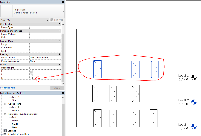Revit Door Schedule & Schedule Updates Sc 1 St Autodesk