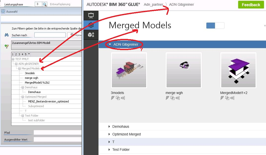 how to delete project in bim glue