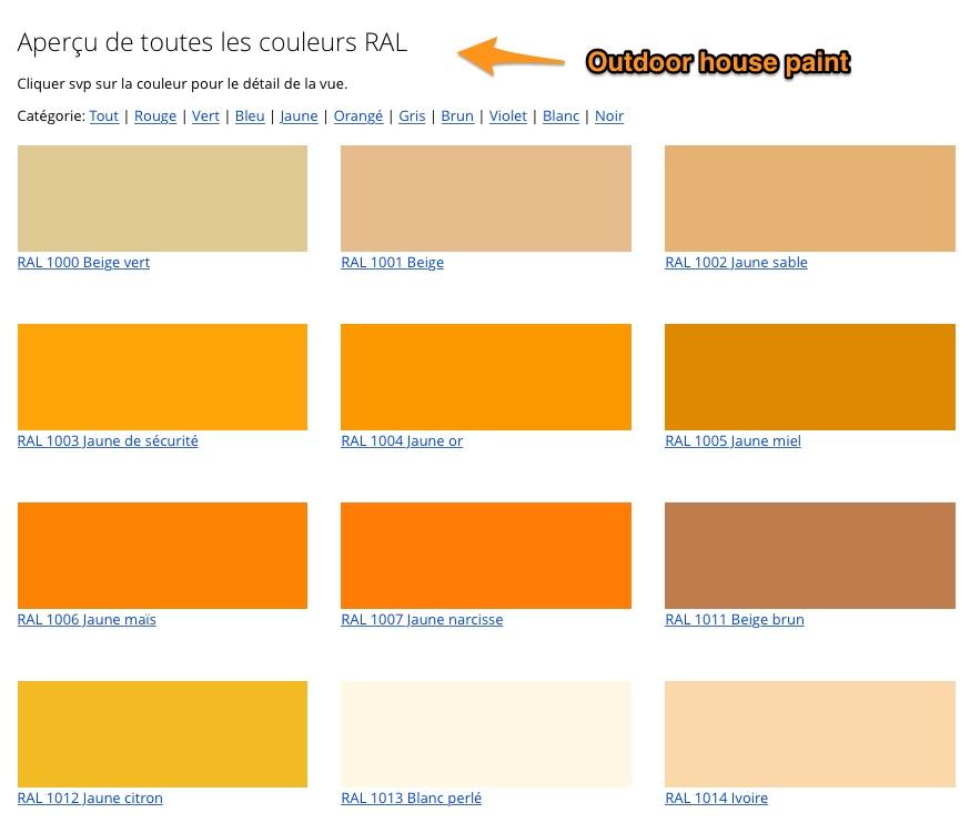 Ral Pantone Colors In Rendering Mode Autodesk Community