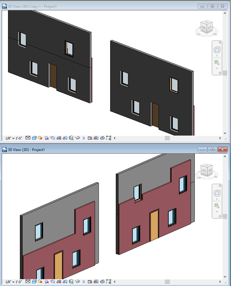 Solved: Rejoin horizontally split walls without losing hosted ...