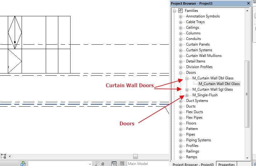 Revit Full Glass Door - Glass Door Ideas