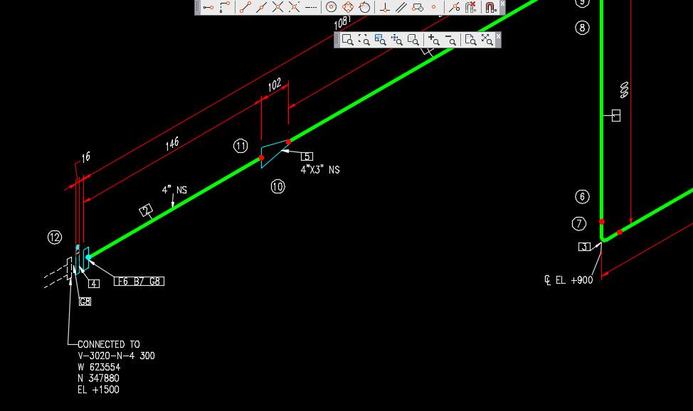 Spectacle Blind On Isometric Autodesk Community Autocad Plant 3d