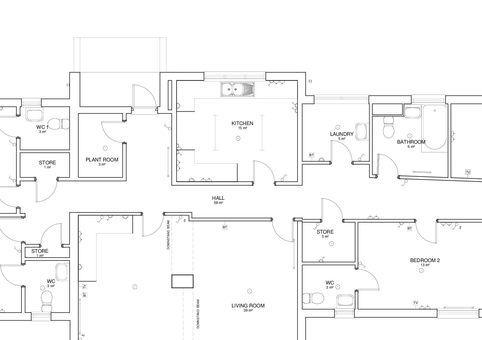 Solved Light Fittings Smoke Detectors Not Showing On Plan Autodesk Community Revit Products