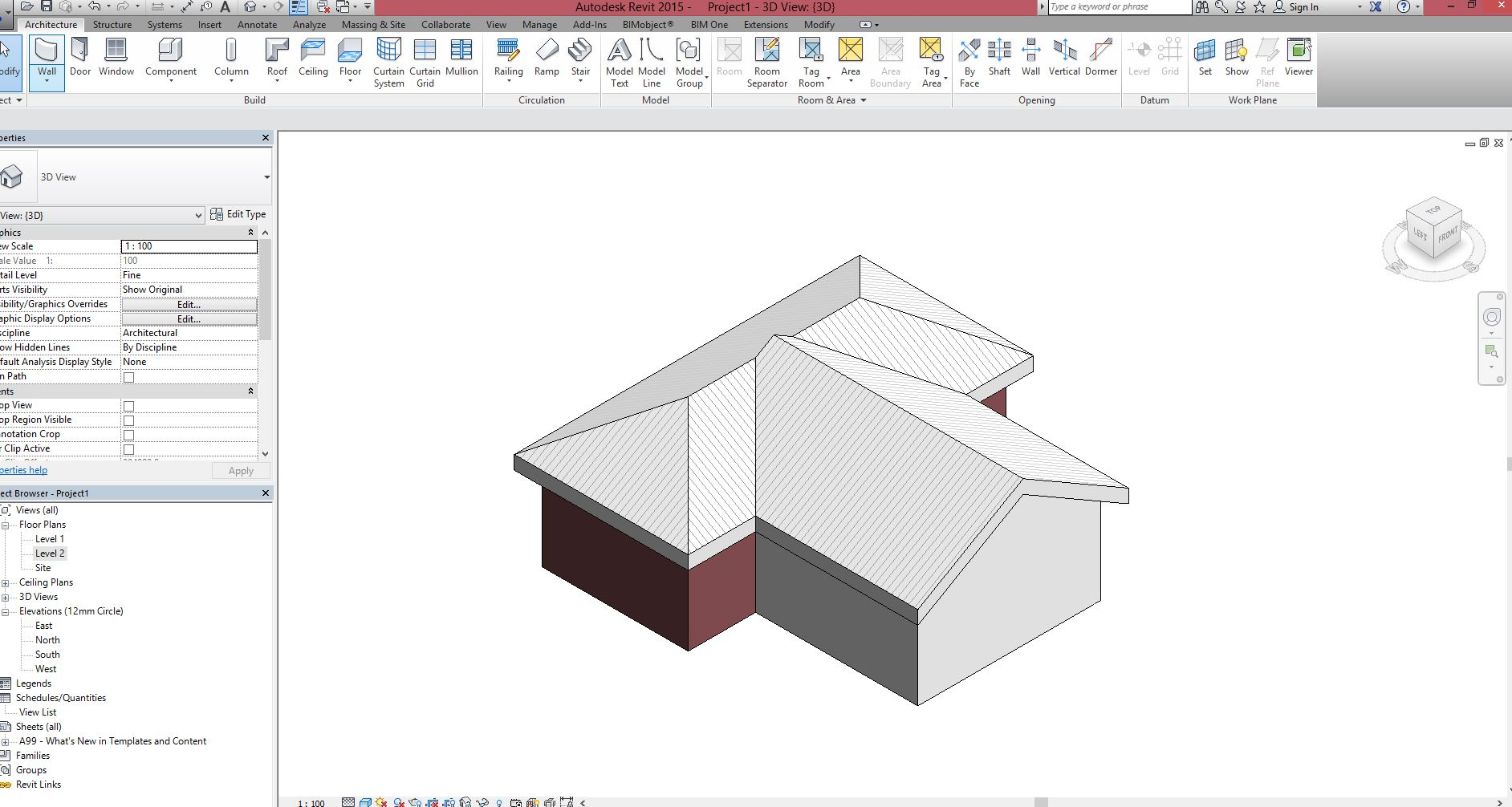Solved Gable Roof Autodesk Community Revit Products
