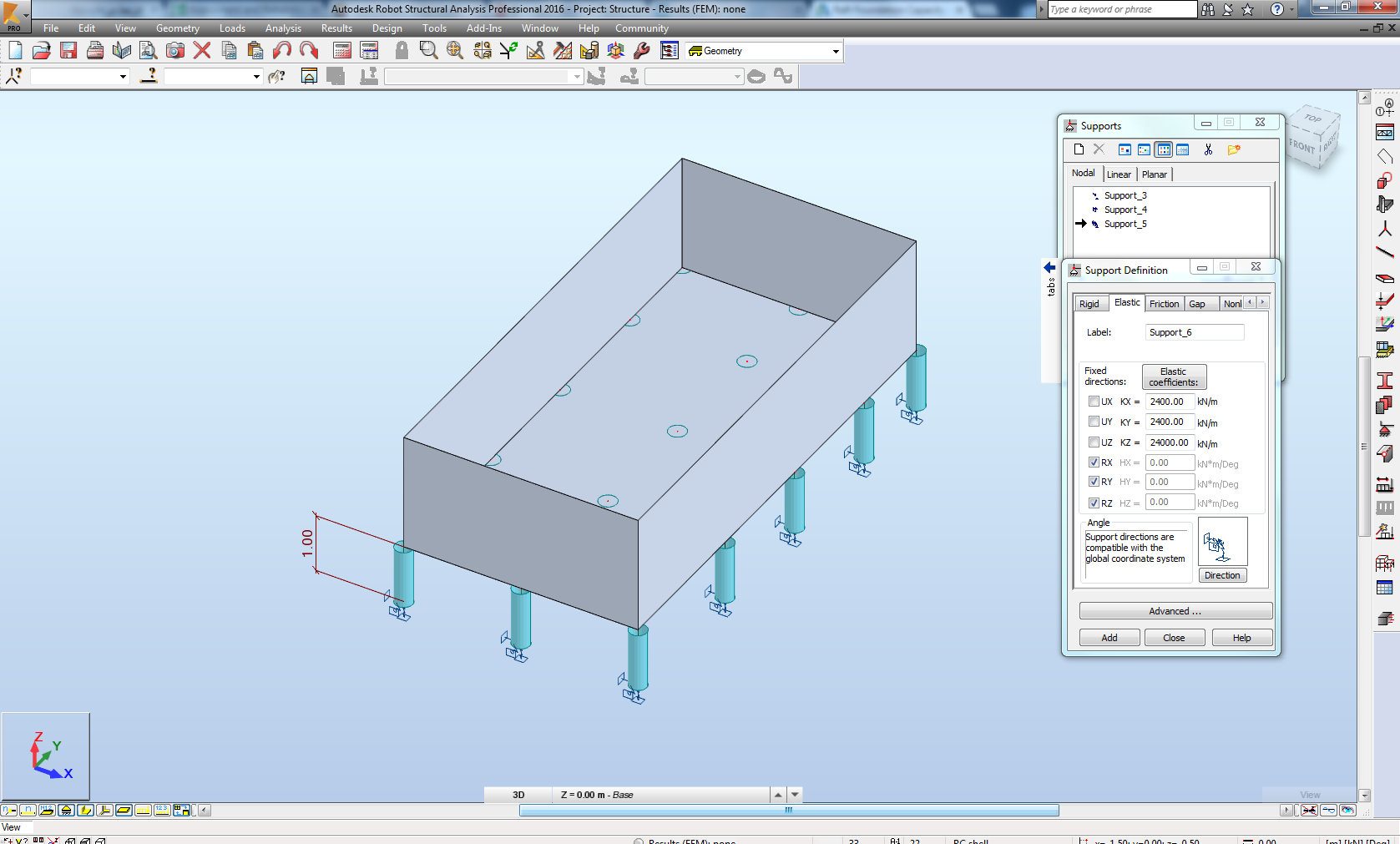 Raft Foundation Capacity For Pile Design Autodesk Community Robot Structural Analysis Products