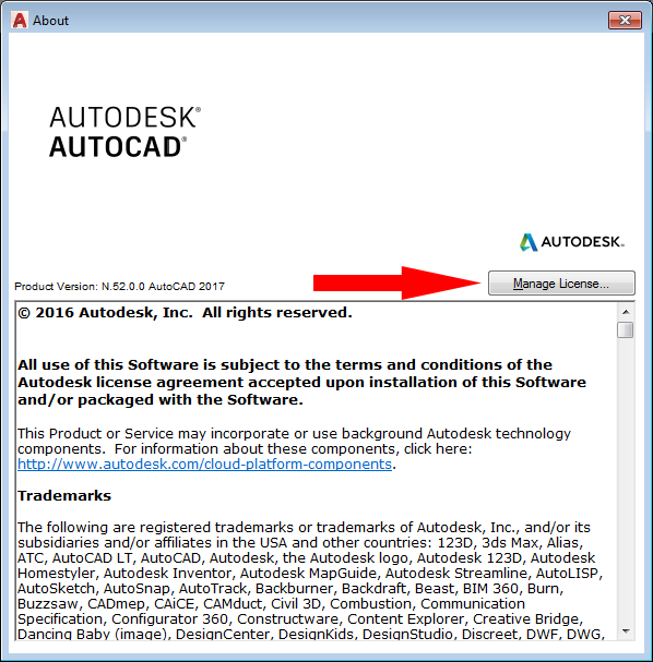 Autodesk Licensing Support