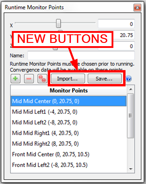 import and save monitor point coordinates list autodesk community