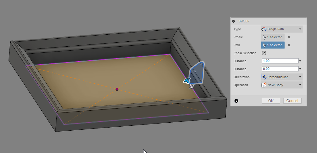 Solved How Can I Make A Frame With A Profile Autodesk Community