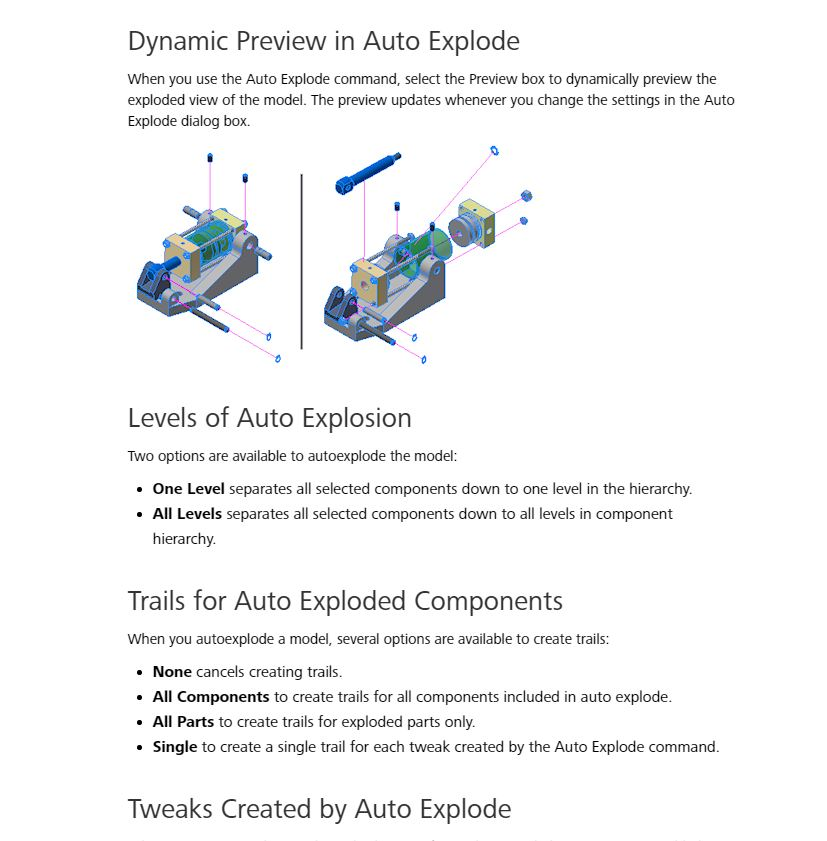 Autoexplode In 2017 Autodesk Community Inventor Products