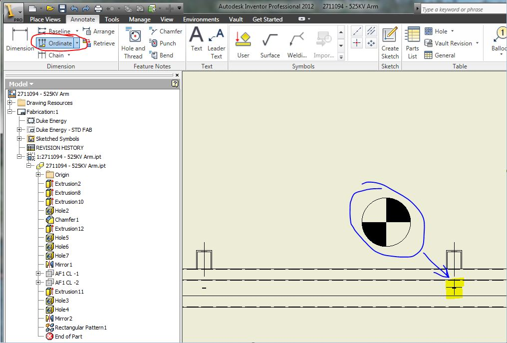 Centre Of Gravity Symbol Autodesk Community Inventor Products