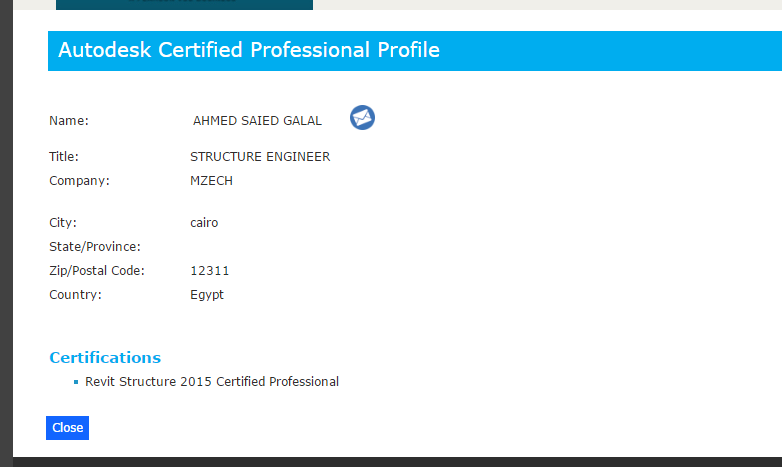 Solved: My Revit certification information - Autodesk Community ...