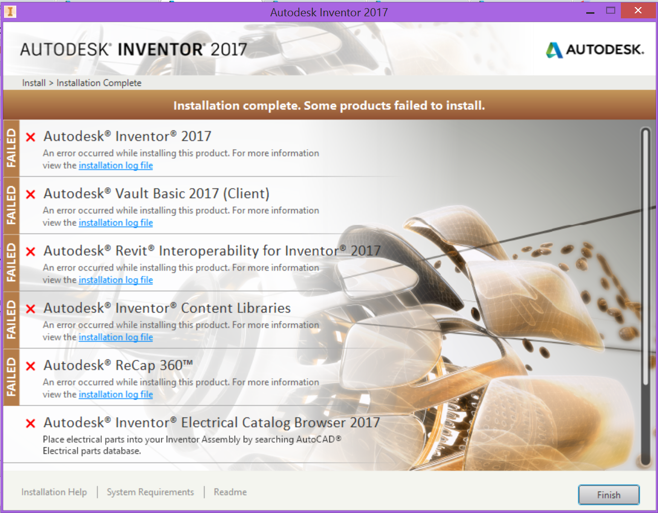 Solved  Inventor 2017 Installation Problem