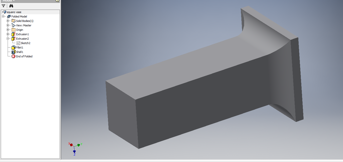 Ripping Corner Seams On Converted Sheet Metal Part