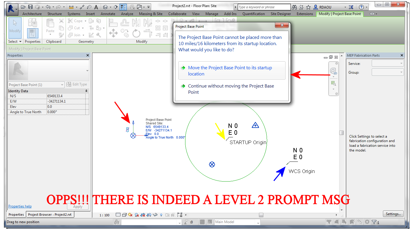 Solved: Revit Coordinate System and project site setup - Autodesk Community