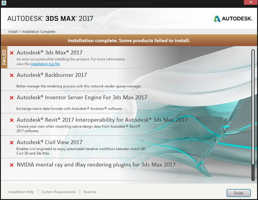 why cant i install the program? - Autodesk Community- 3ds Max