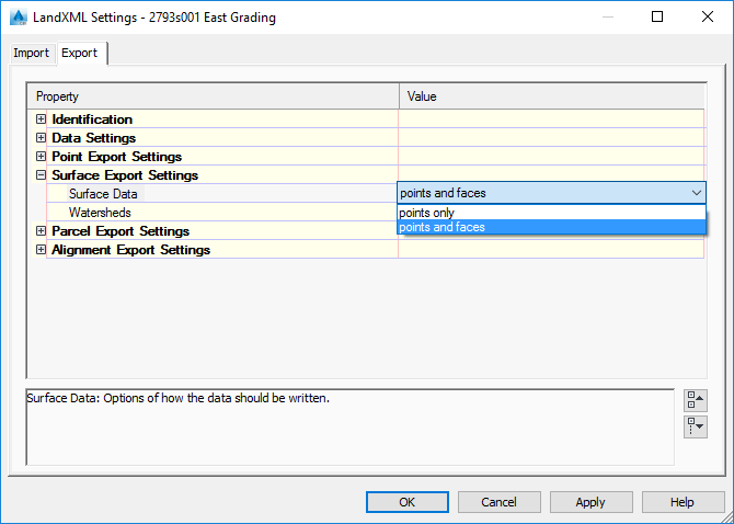 solved xml export autodesk community civil 3d