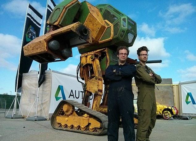 MegaBots & Autodesk ReCap