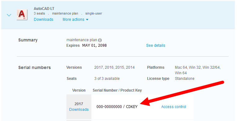 autocad 2014 serial number and product key 2016