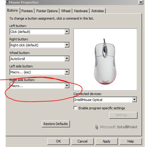 Assigning AutoCAD commands to mouse buttons - Autodesk