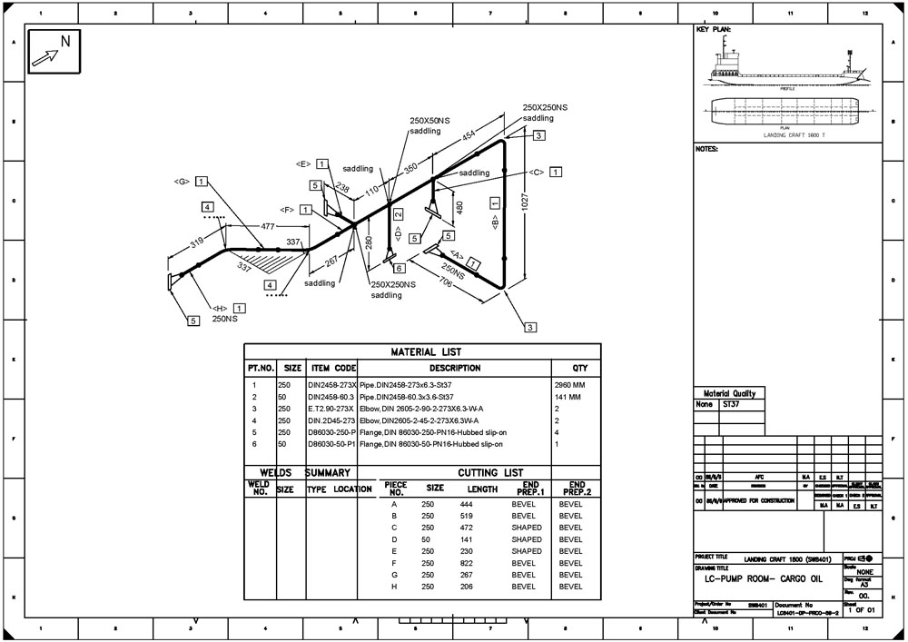 Piping Isometric Diagram Touch Wiring Diagrams