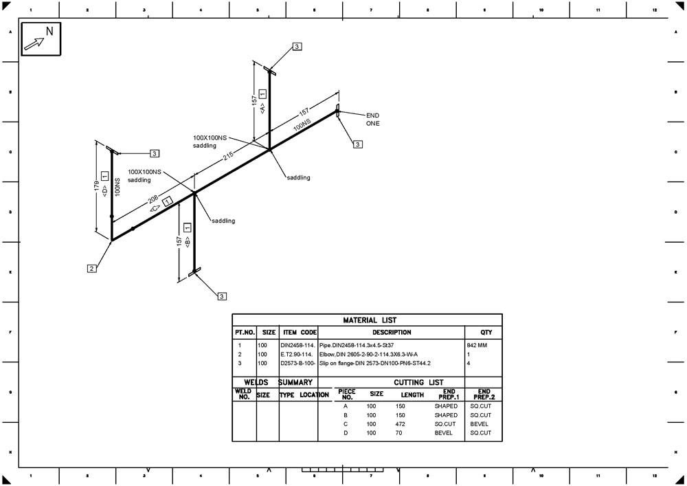 Piping Isometric Diagram Smart Wiring Diagrams