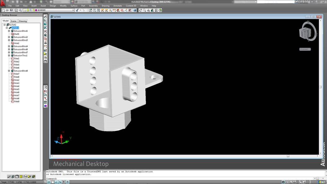 inventor 2017 pro not fully importing mechanical desktop 2009 files rh forums autodesk com Autodesk Inventor Drawings Autodesk Inventor Projects