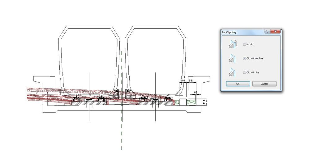 how to cut a section in revit