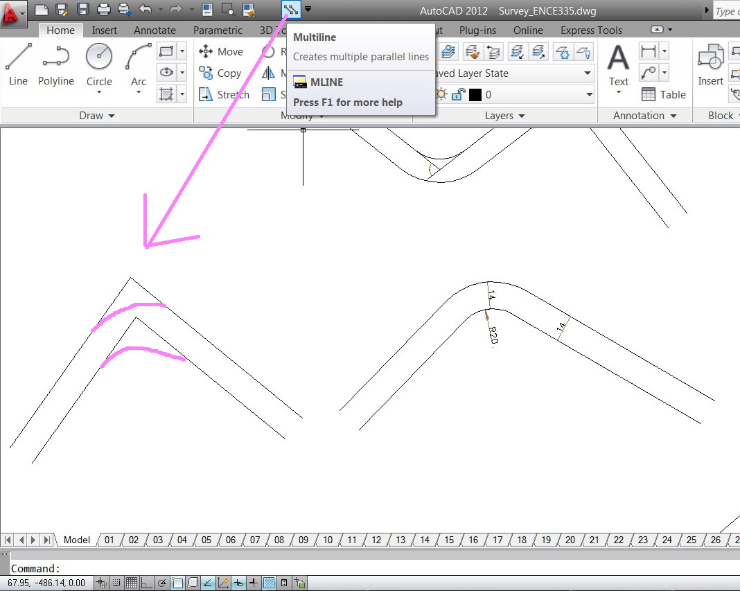 how to create line type in autocad