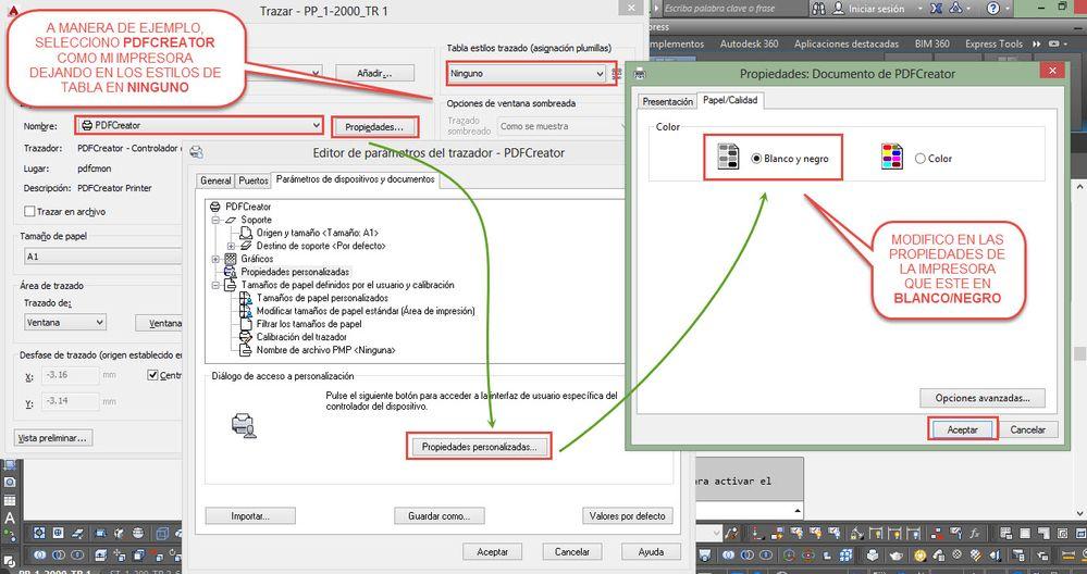 Solucionado: Imprimir a color desde Layout - Autodesk Community ...