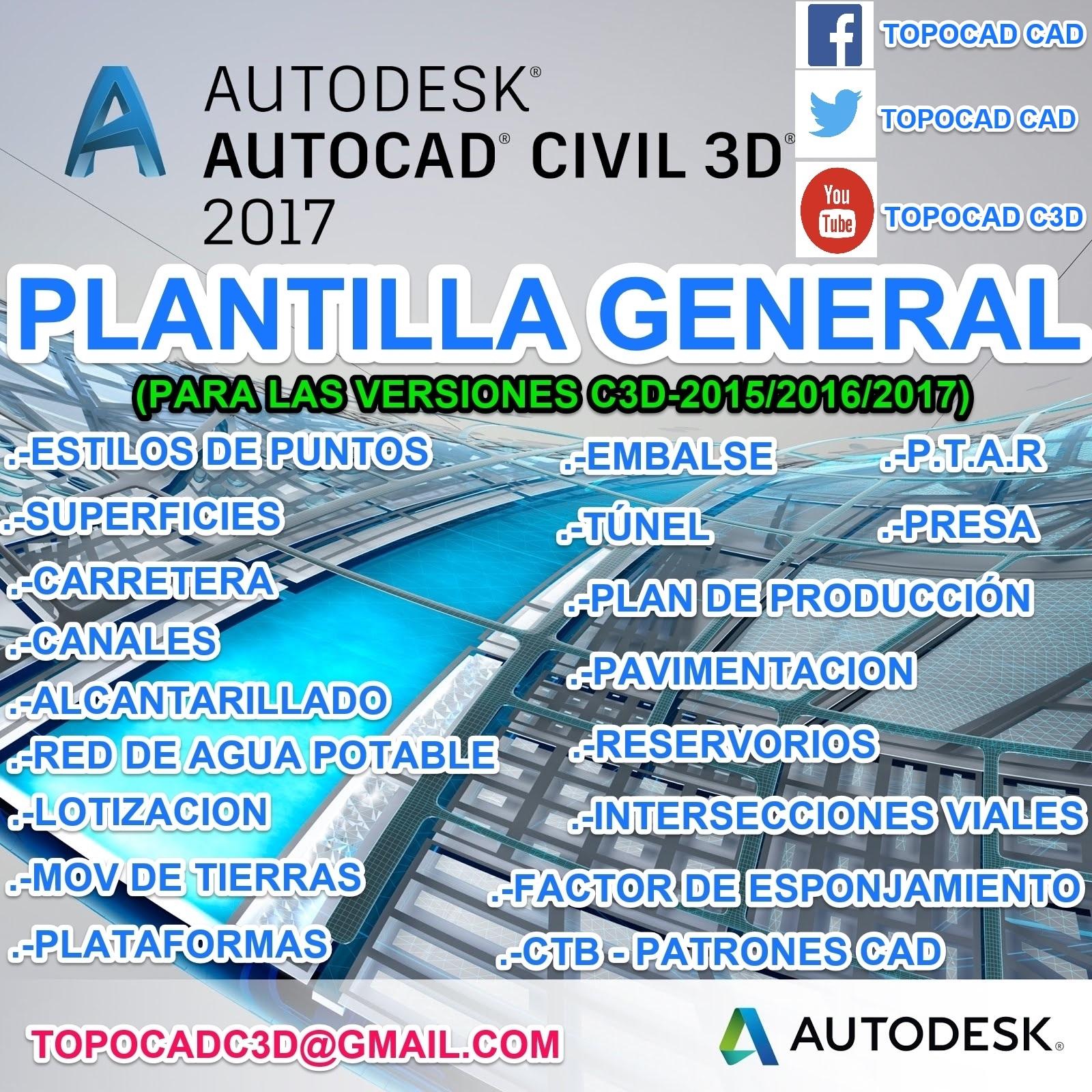 Solucionado: CREAR UNA PLANTILLA EN CIVIL 3D - Autodesk Community ...