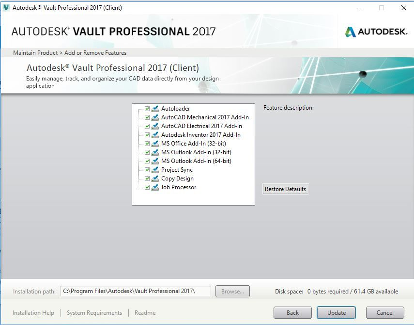 autodesk vault 2017 add ins for microsoft office 2016 is now rh forums autodesk com