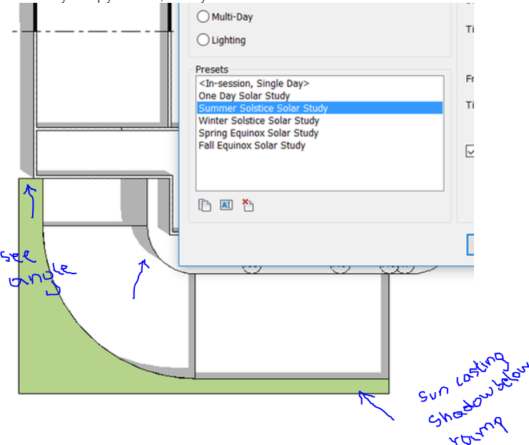 Shadow Show Incorrect On Ramp Autodesk Community Revit Products