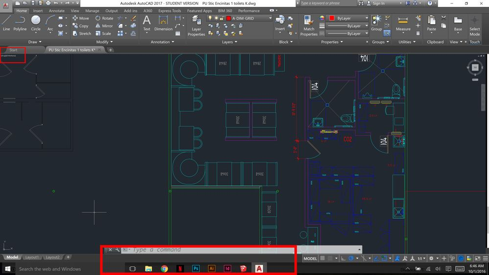 how to change auto cad font size