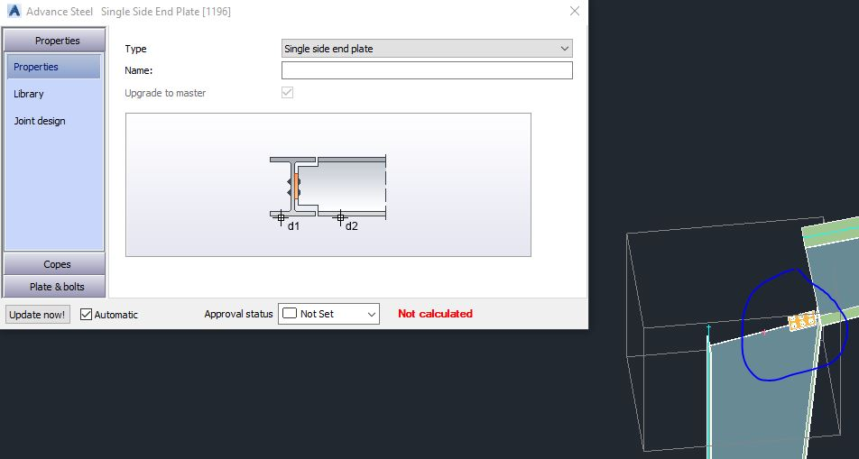 new knee connection for as urgent autodesk community advance steel rh forums autodesk com