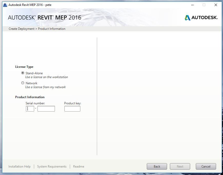 Revit 2017 Install - Error 1309 Error Reading From File