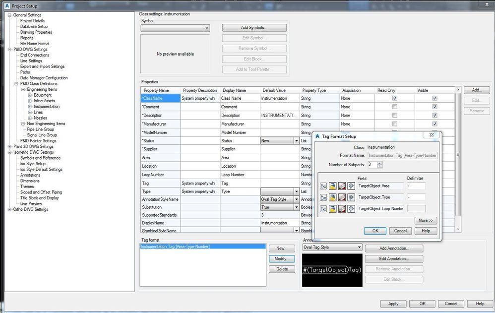 Solved Instrumentation Tags Autodesk Community Autocad Pid