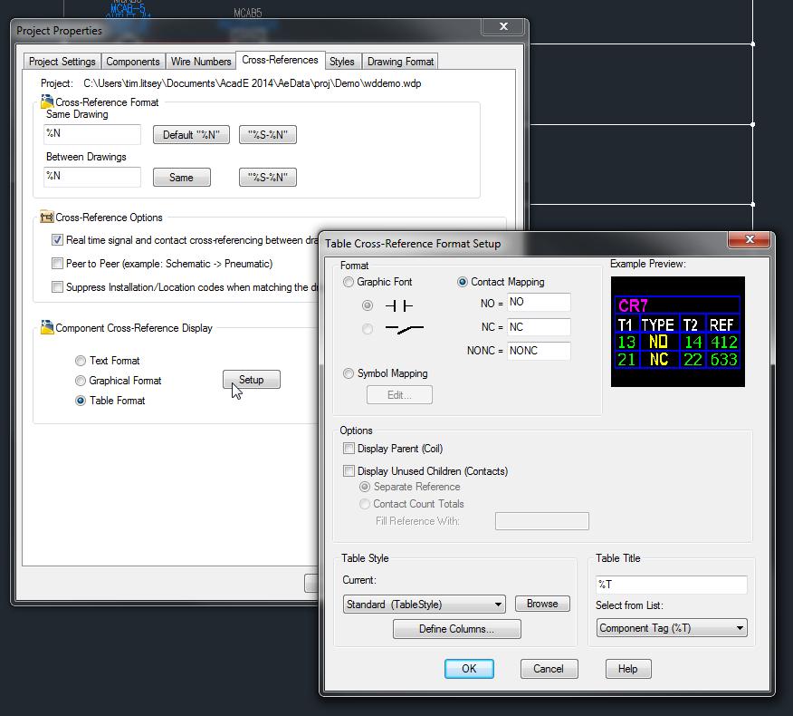 Relay Aux Cont Nonc Sht Refs Autodesk Community Autocad Electrical