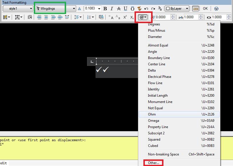 Solved Check Marks Autodesk Community Autocad
