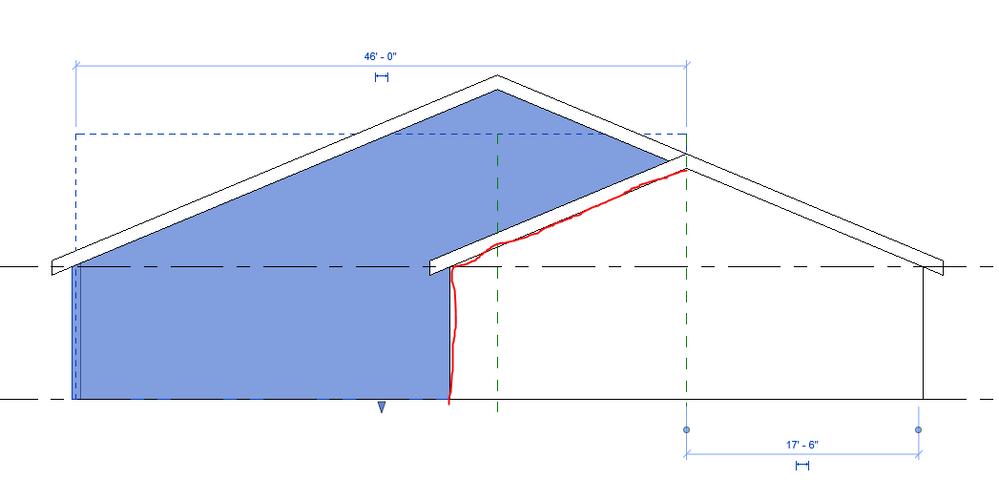 Solved Gable Roof Edit Question Autodesk Community Revit Products