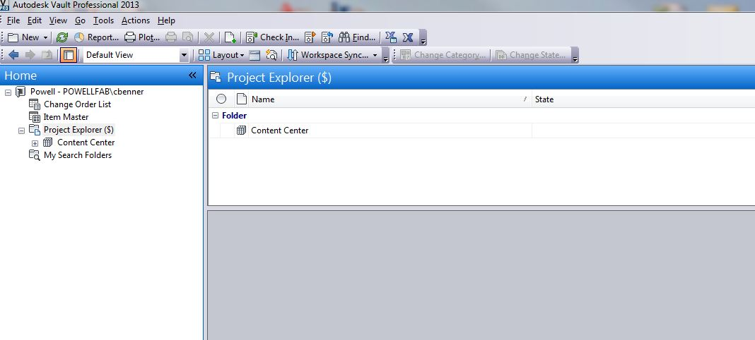 solved vault 2013 nothing in project explorer autodesk community rh forums autodesk com