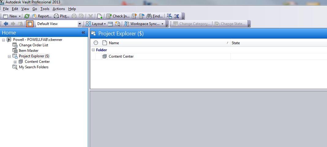 solved vault 2013 nothing in project explorer autodesk community rh forums autodesk com