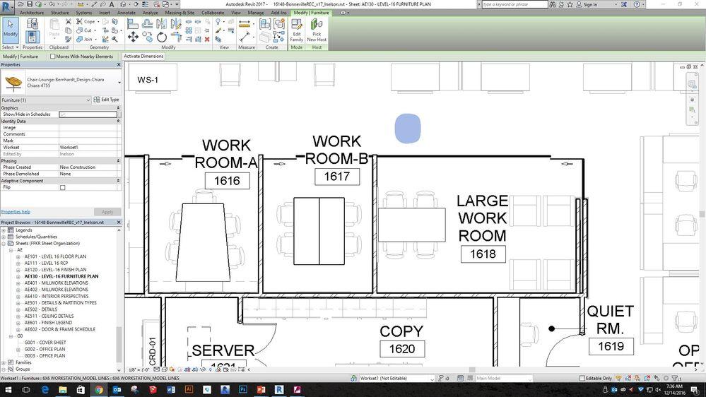Solved Revit Furniture Not Showing Up Autodesk Community Revit Products