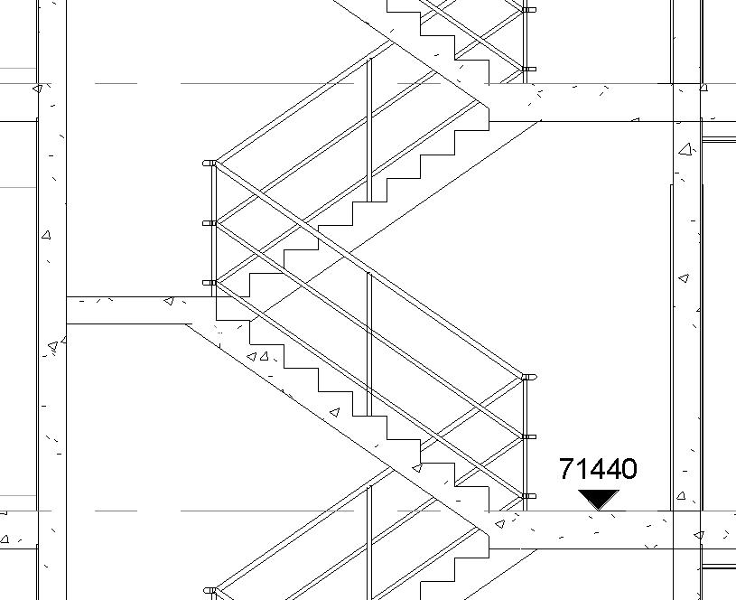 Spot Elevation In Plan Revit : Spot elevation on stair landings
