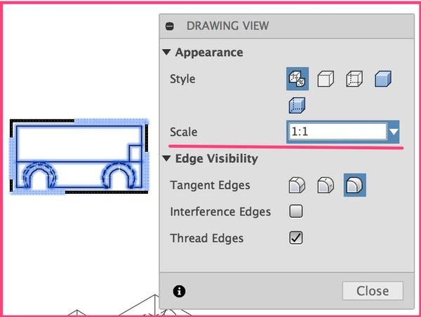 autodesk export to pdf the box around image