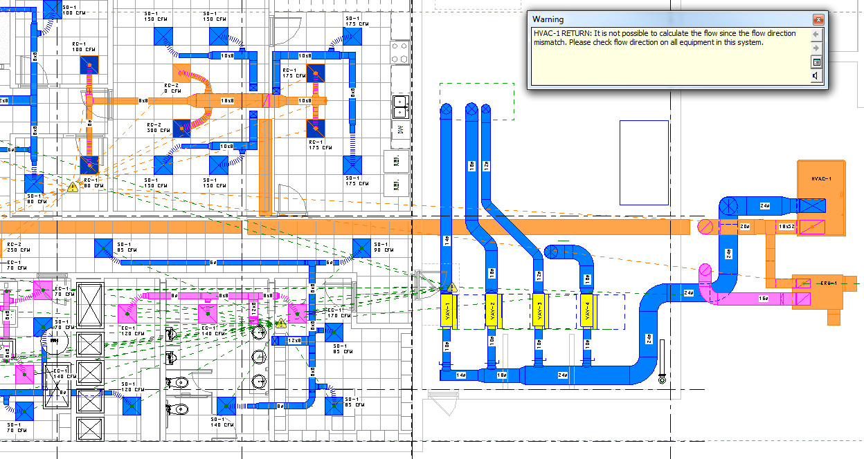 Hvac System With Energy Recovery Unit Issue Autodesk Community Drawing Layout Revit Products